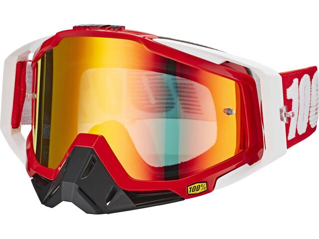 100% Racecraft Anti Fog Mirror - Masque - rouge